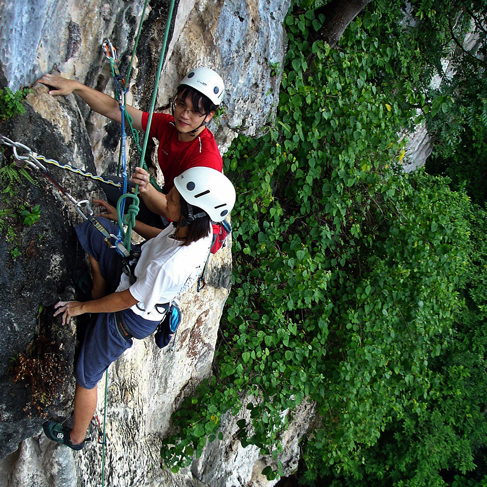 Guided rock climbing - Private Guiding
