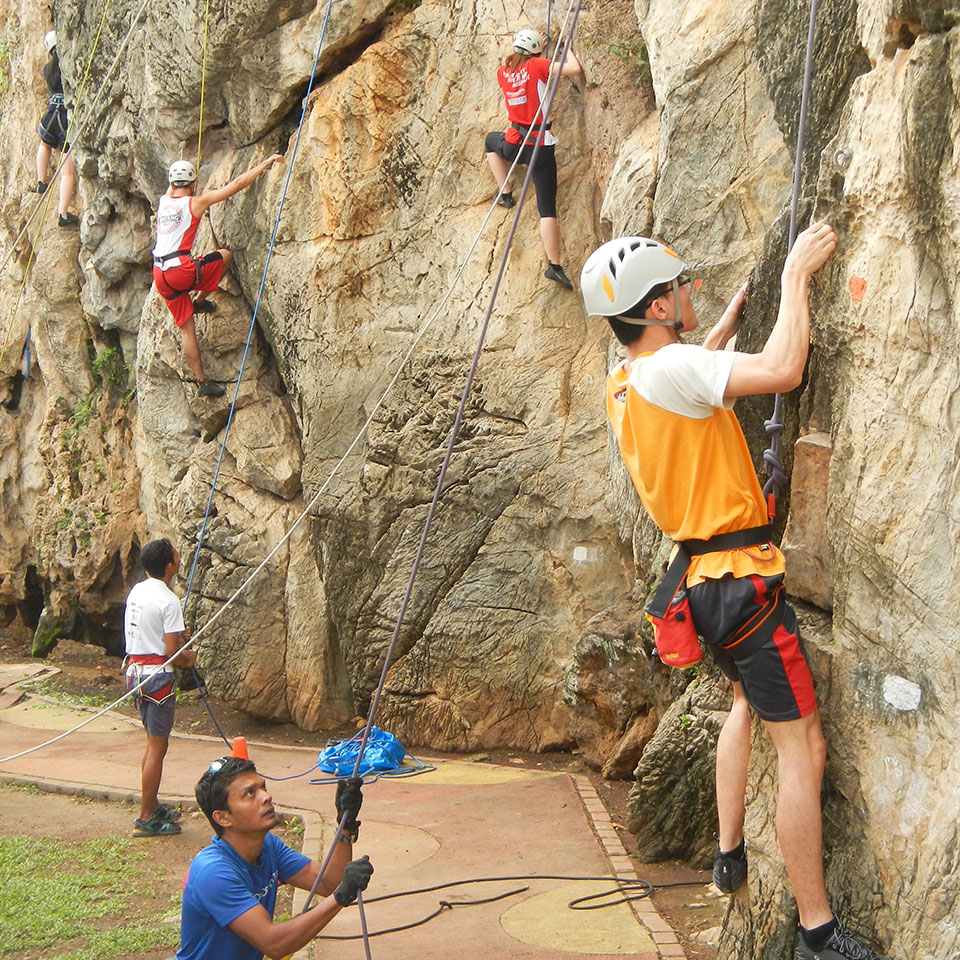 Guided rock climbing - Taster